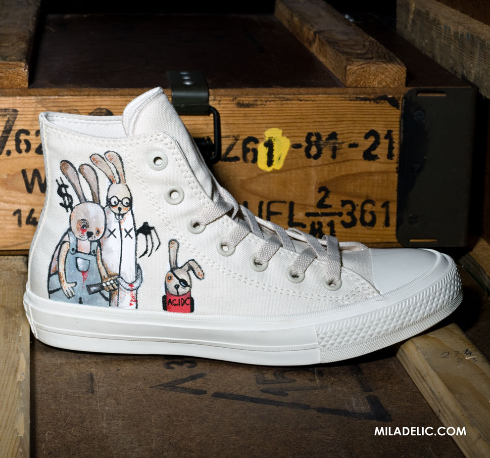 Hand painted CONVERSE CHUCK TAYLOR ALL STAR II